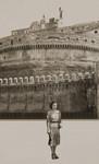 Romë, përpara Castel Sant' Angelo-s, 1937